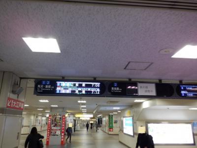 「E DEC 2020  初冬・・・・・①本数稀少バス路線Ⅰ」からの続きです。<br /><br />練馬駅の改札口を通り、ホームに向かいます。