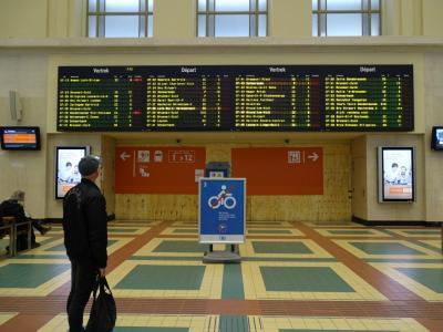 5:30起床。メールをして電車の時間を遅らせることにして2度寝。<br />6:40起床。7:15ホテルをチェックアウト。10分で駅に到着。