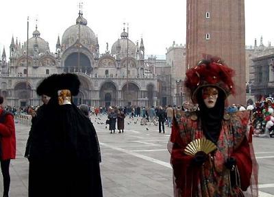 ヴェネチアのカーニヴァルです。