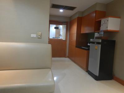 病室。もちろん個室。