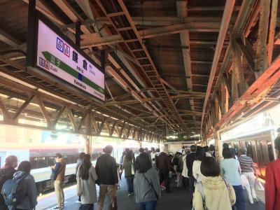 江ノ電で鎌倉では無く<br />今日直接横須賀線で<br />鎌倉へ<br />滅多に無いパターン