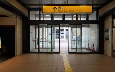 青森駅の市営駐車場にクルマを預けた。<br />3日後に戻って来て、何処へ停めたか分からなくなってしまう可能性が高いので、写真を撮っておいた。