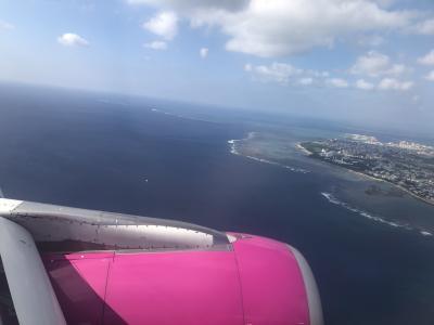 石垣島が見えてきました~<br />ただいま~