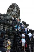 美しきアプサラが微笑むアンコール遺跡へ in Siem Reap★2012 03 2日目【REP:アンコールワット編】