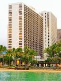 Oahu-25 カピオラニ公園-カピオラニビーチ 朝の散歩 ☆爽快!閑静/清々とした広場