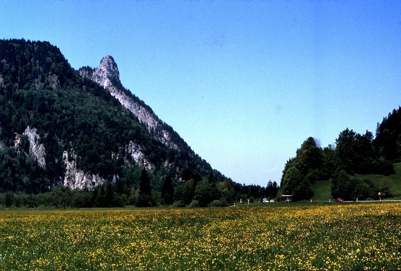 1988年のヨーロッパ 12、西ドイツ編、その1 (バイエルンの田舎町&ルードウィヒ二世の城)