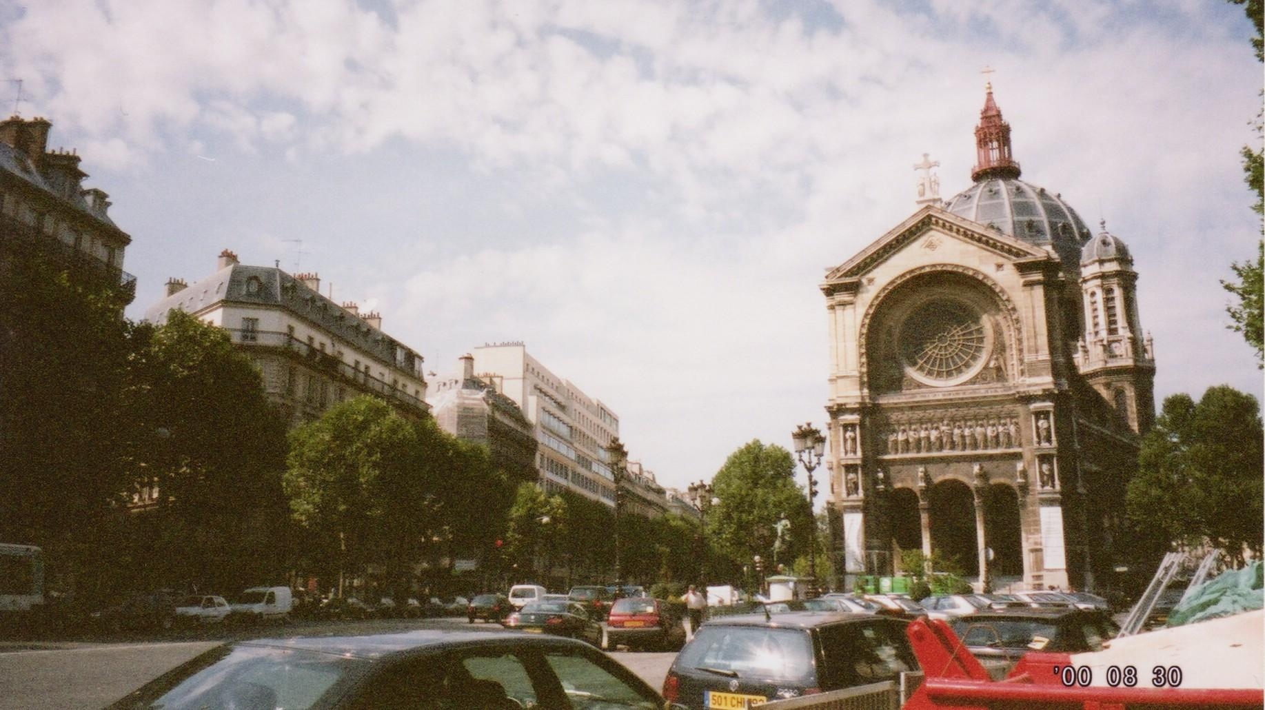 2000年夏パリ』パリ(フランス)の...