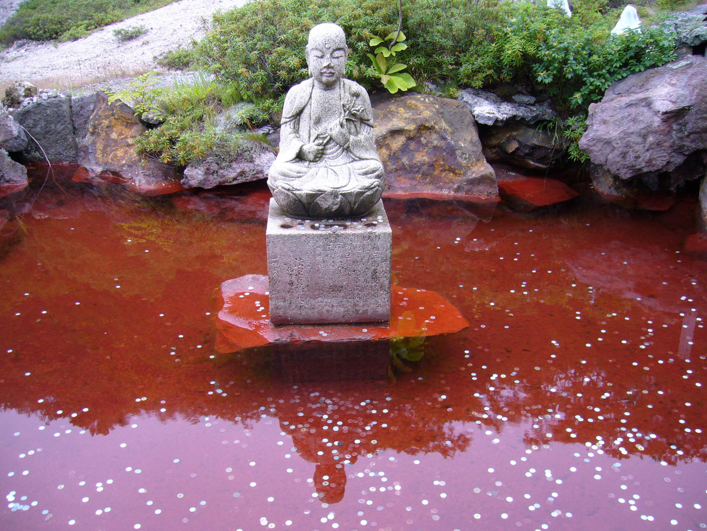 「恐山 血の池地獄」の画像検索結果