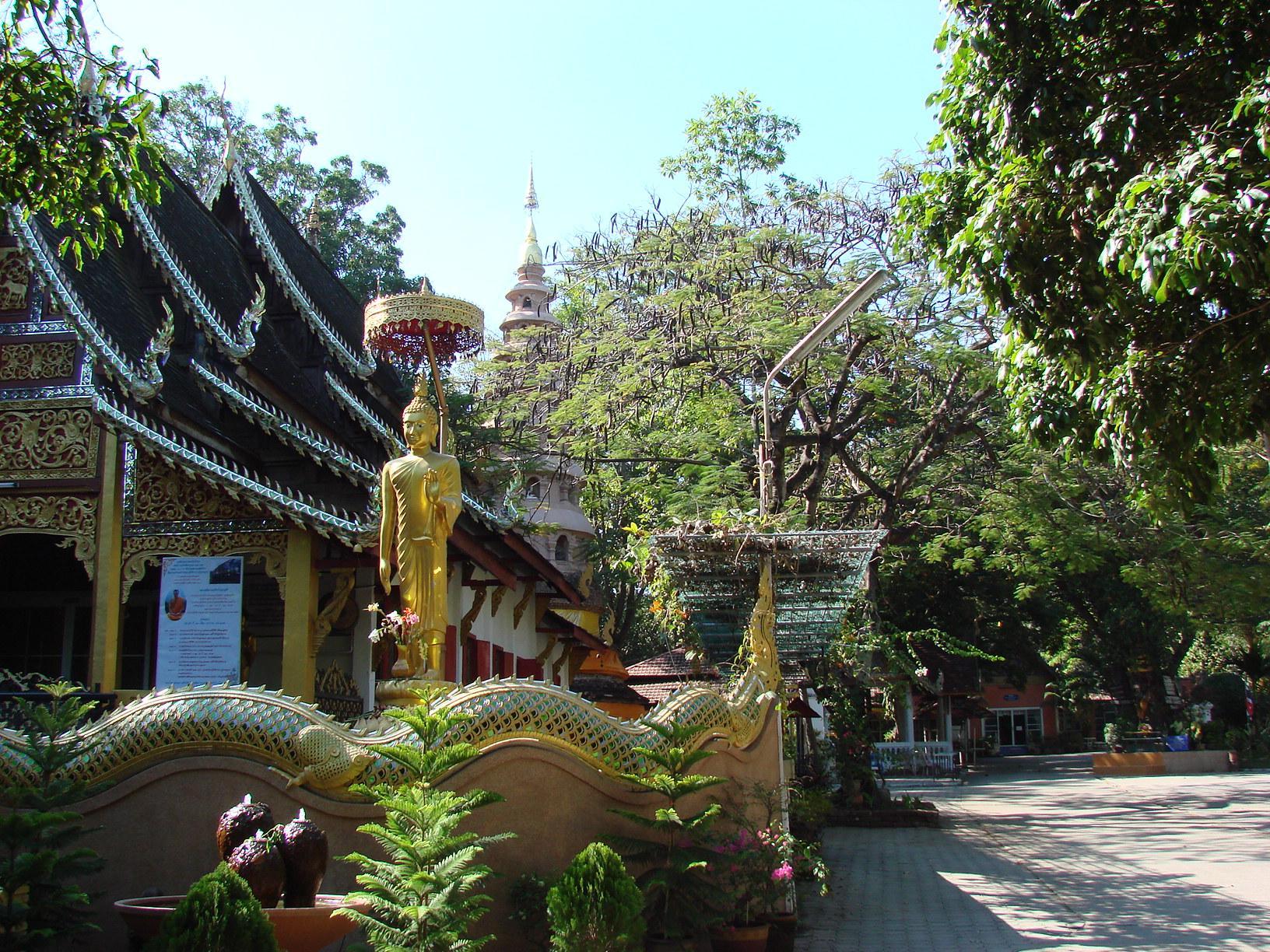 チェンマイ徒然草 其の二十七 瞑想寺Wat・Rampoengワット・ランプーン