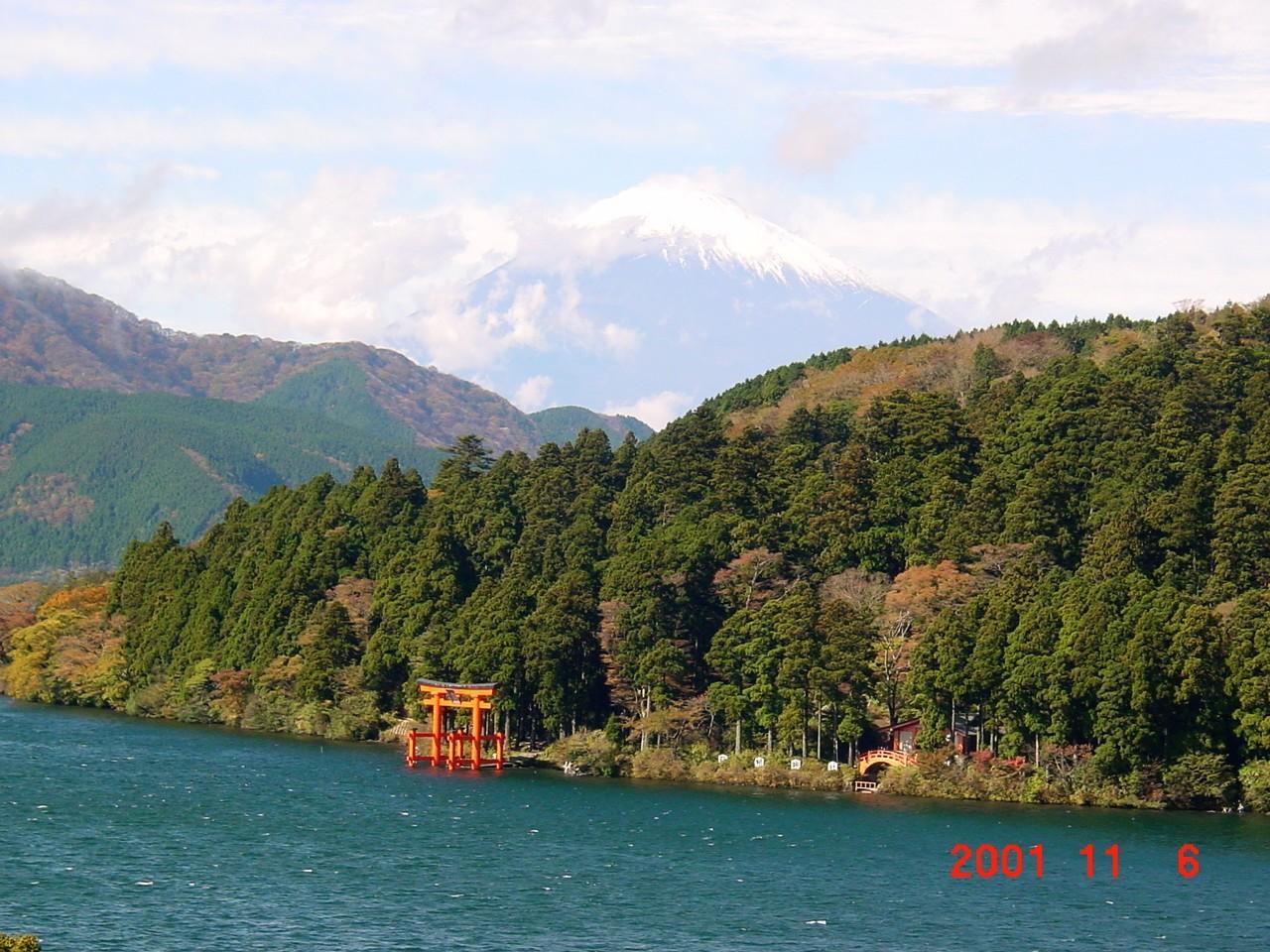 神奈川県 箱根 箱根関所跡、箱根杉並木、成川美術館などを散策