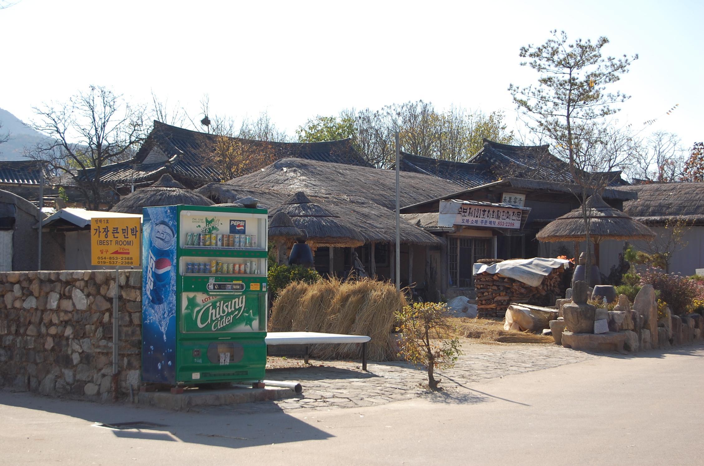 ビジネスついでの観光 その5 韓国 安東河回村、紅葉の慶州