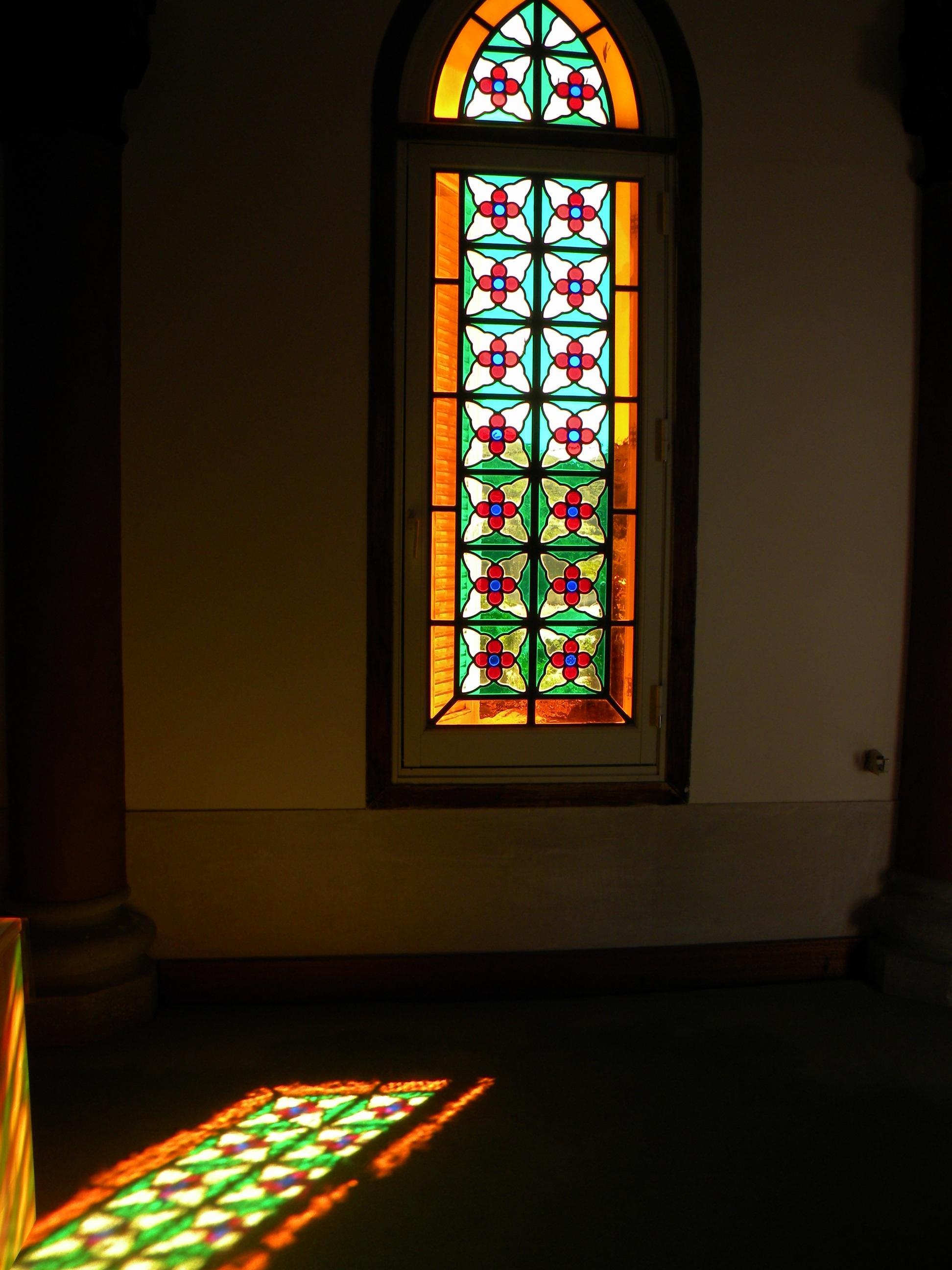 五島列島教会巡礼;中通島編 7.冷水教会、青砂ヶ浦教会(あおさがうら)