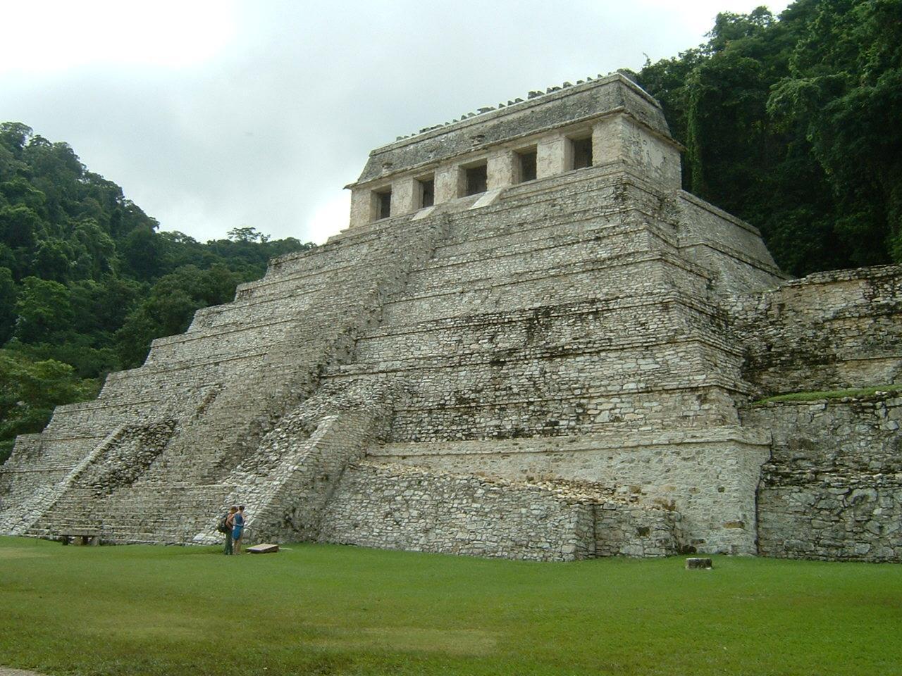メキシコの代表的マヤ遺跡パレンケに2回目の訪問。