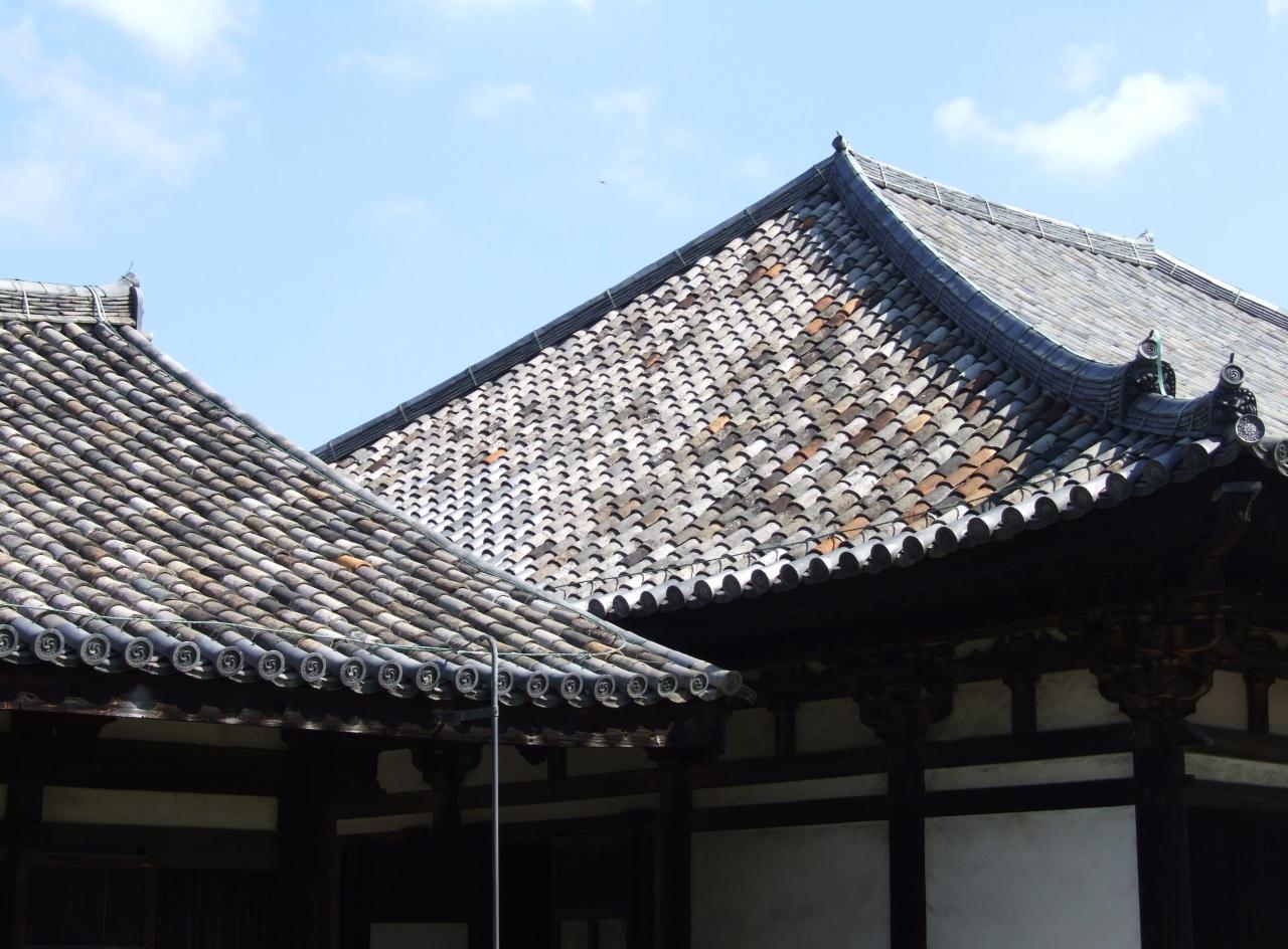 奈良・元興寺~平城宮跡大極殿へ。