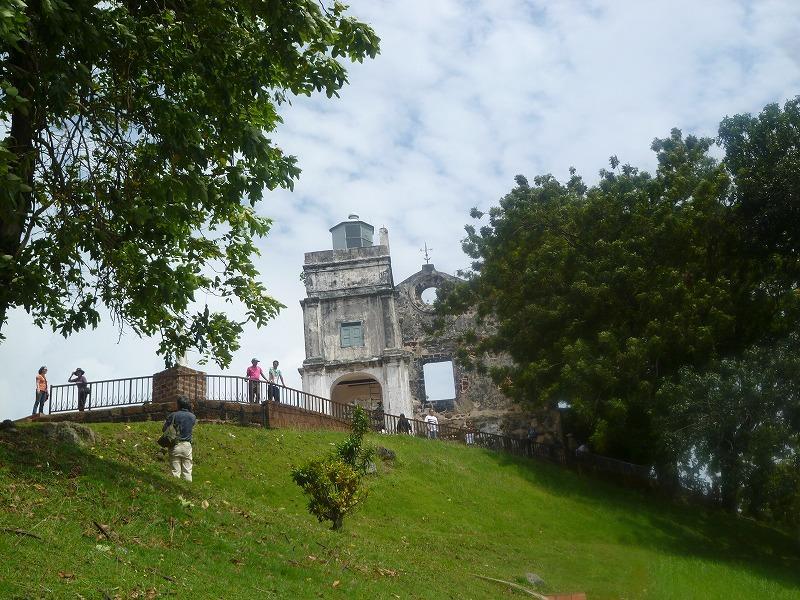 マレーシア38 マラッカ4(セントポール教会礼拝堂跡)』マラッカ ...