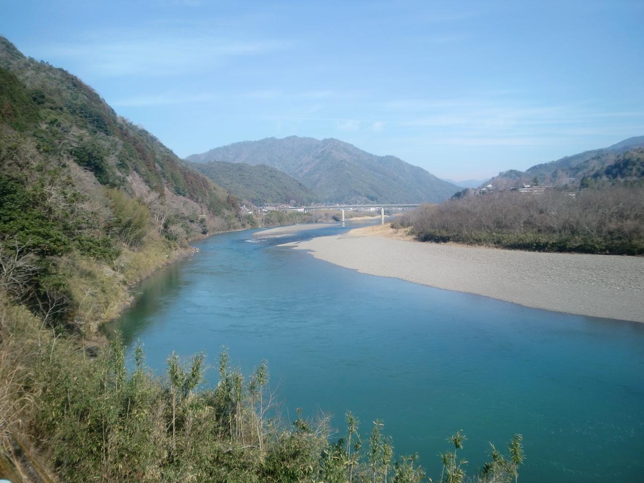 バースデイきっぷを使用した四国旅行 江川崎でレンタサイクル