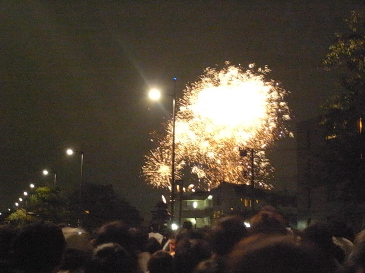 2011年川崎市制記念多摩川花火大会は