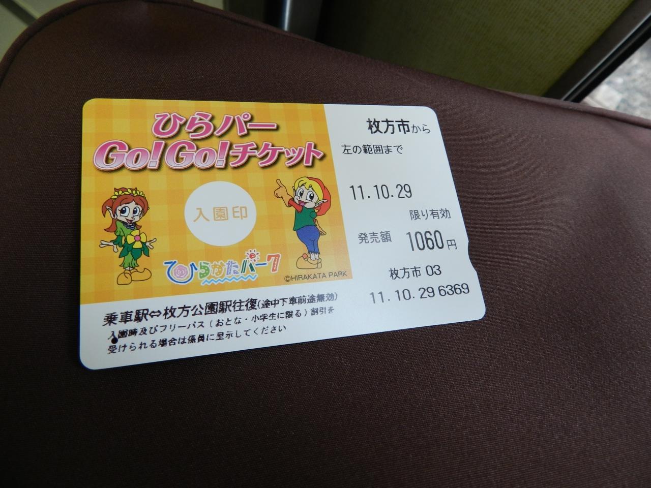 チケット ひら パー