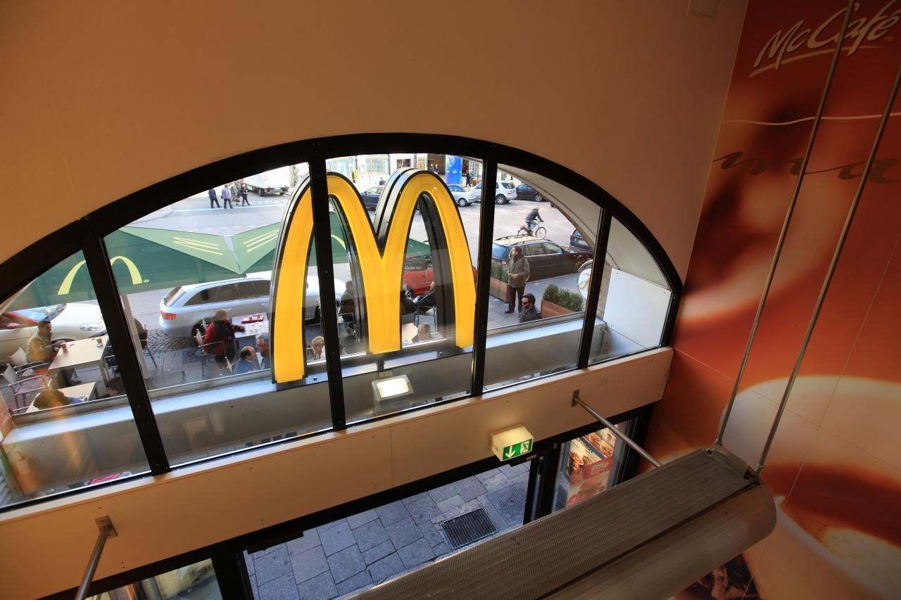 店内 マクドナルド