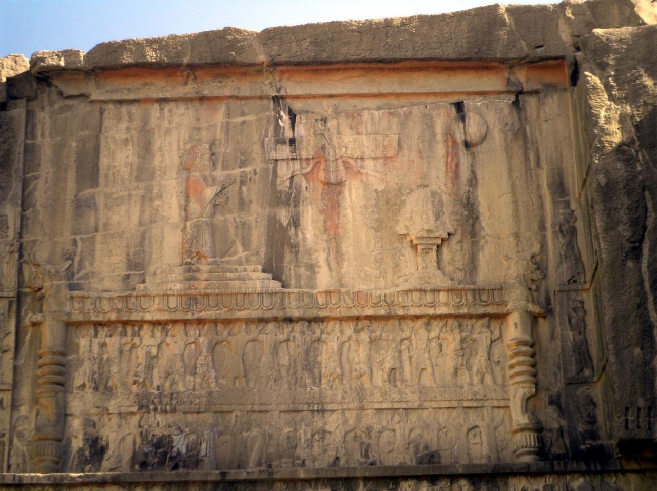 ユーラシア 東へ35: ペルシャのふるさと・ペルセポリス 「大王たちが眠る墓」