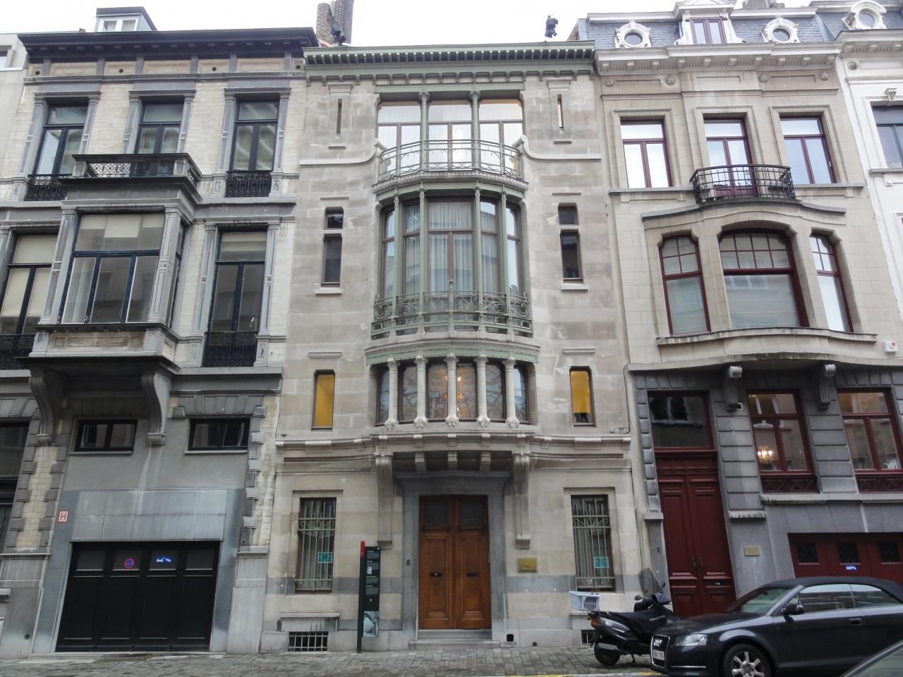 『ヴィクトル・オルタ邸宅群 (ブリュッセル)』ブリュッセル ...