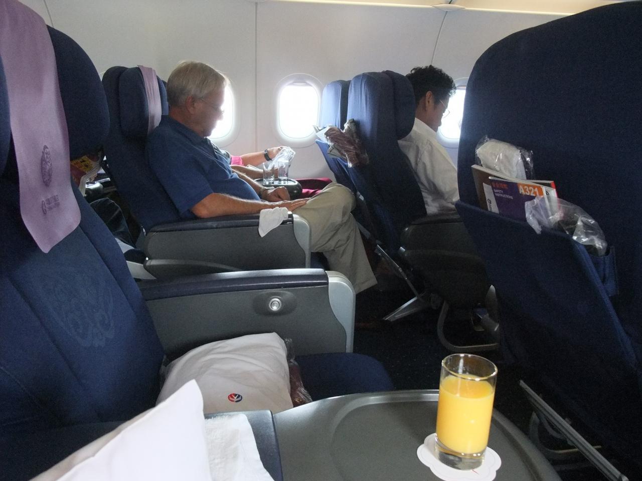 『2013年 夏休み ぶらりバンコクへ 中国東方航空ビジネスクラス ...