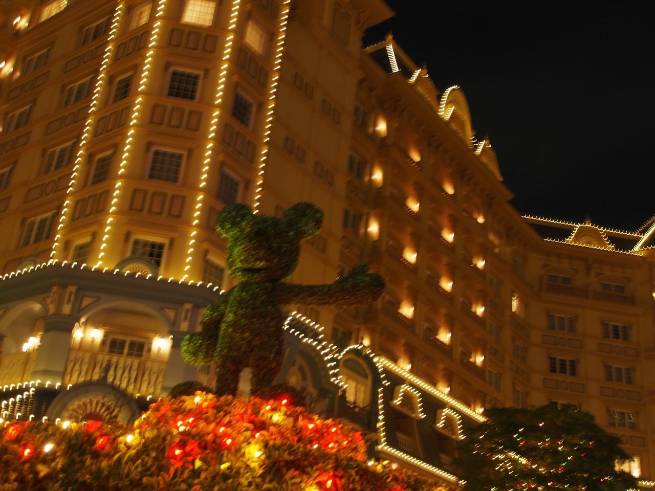 東京ディズニーランドホテルに泊まる』東京ディズニーリゾート(千葉県