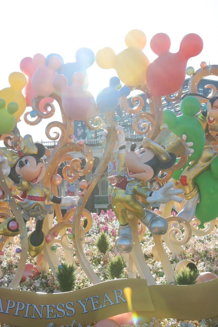 happiness&chiristmas!~5年に1度の我が家の祭典、tdrに行くのだ♪前