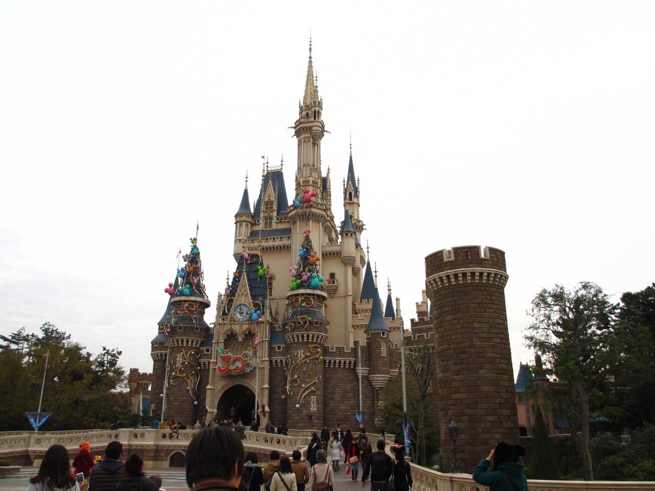 2013年 東京ディズニーランド クリスマスを楽しむ』東京ディズニー