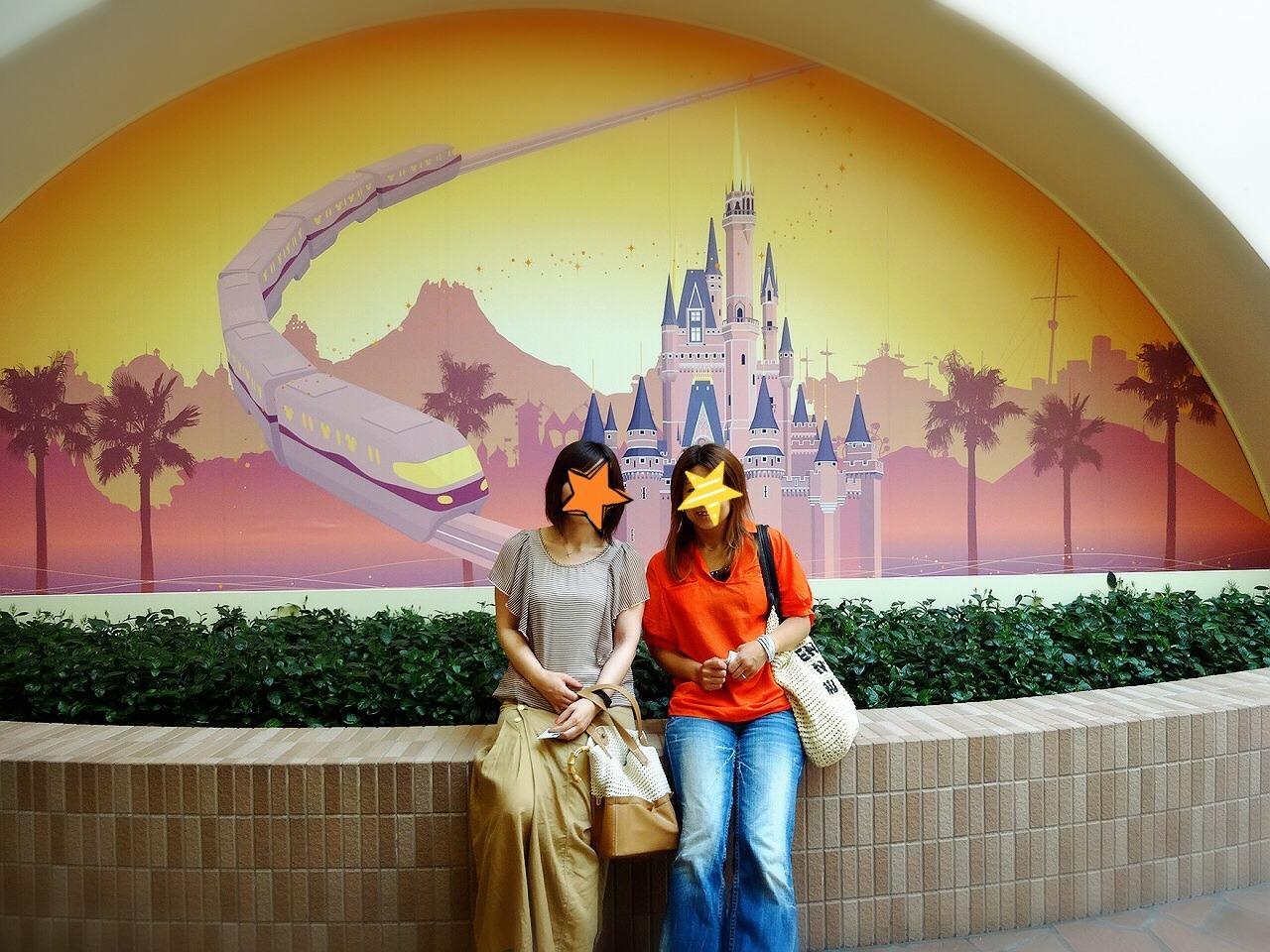 ☆ともだち旅 1泊2日☆ 1日目はディズニーリゾート』東京ディズニー