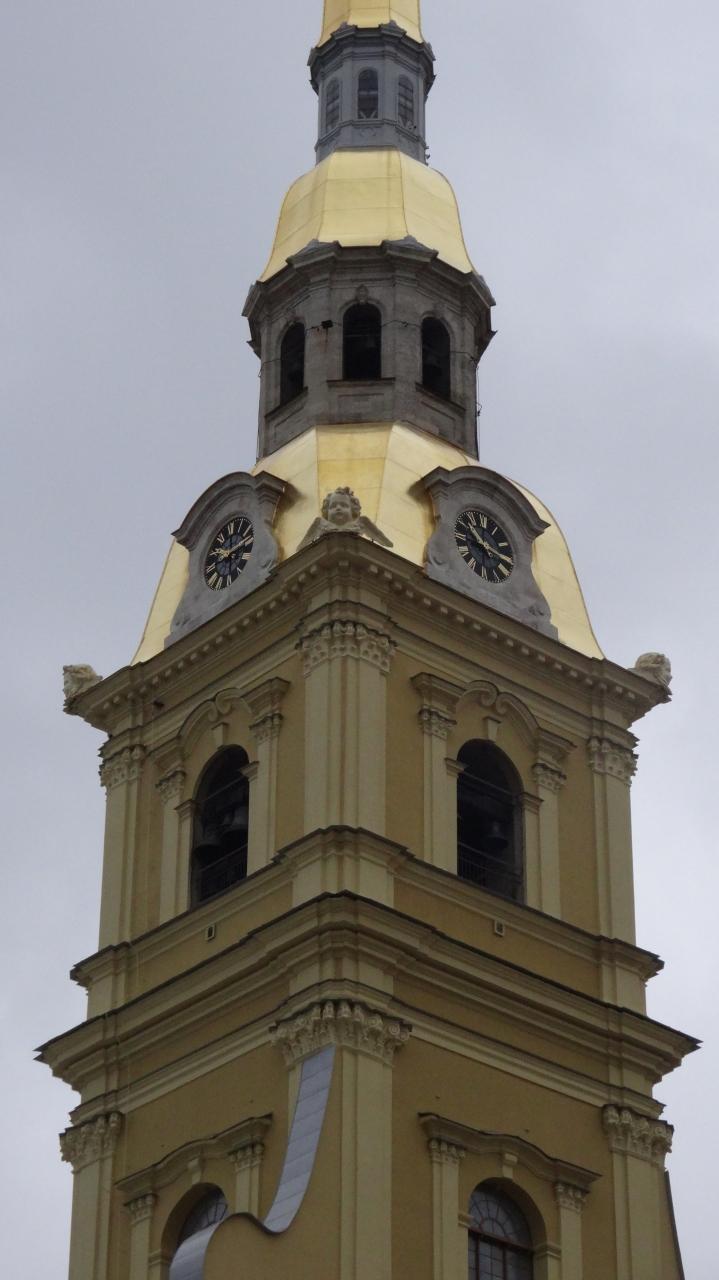 「サンクトペテルブルク」で「一番高い建物」だそうです。