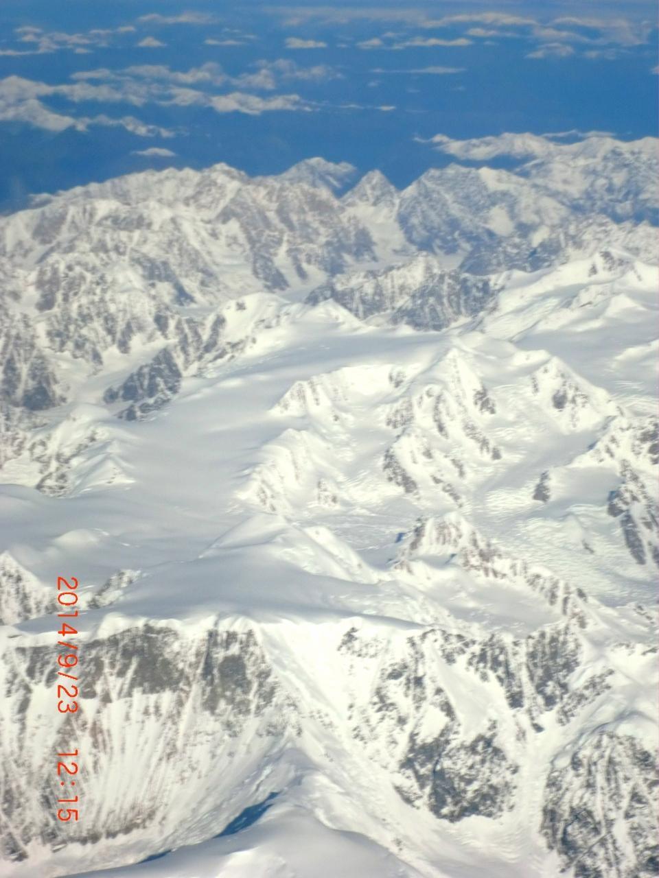 JALのチャーター便でアラスカへ一っ飛び(6)アンカレッジ国際空港~関空へ