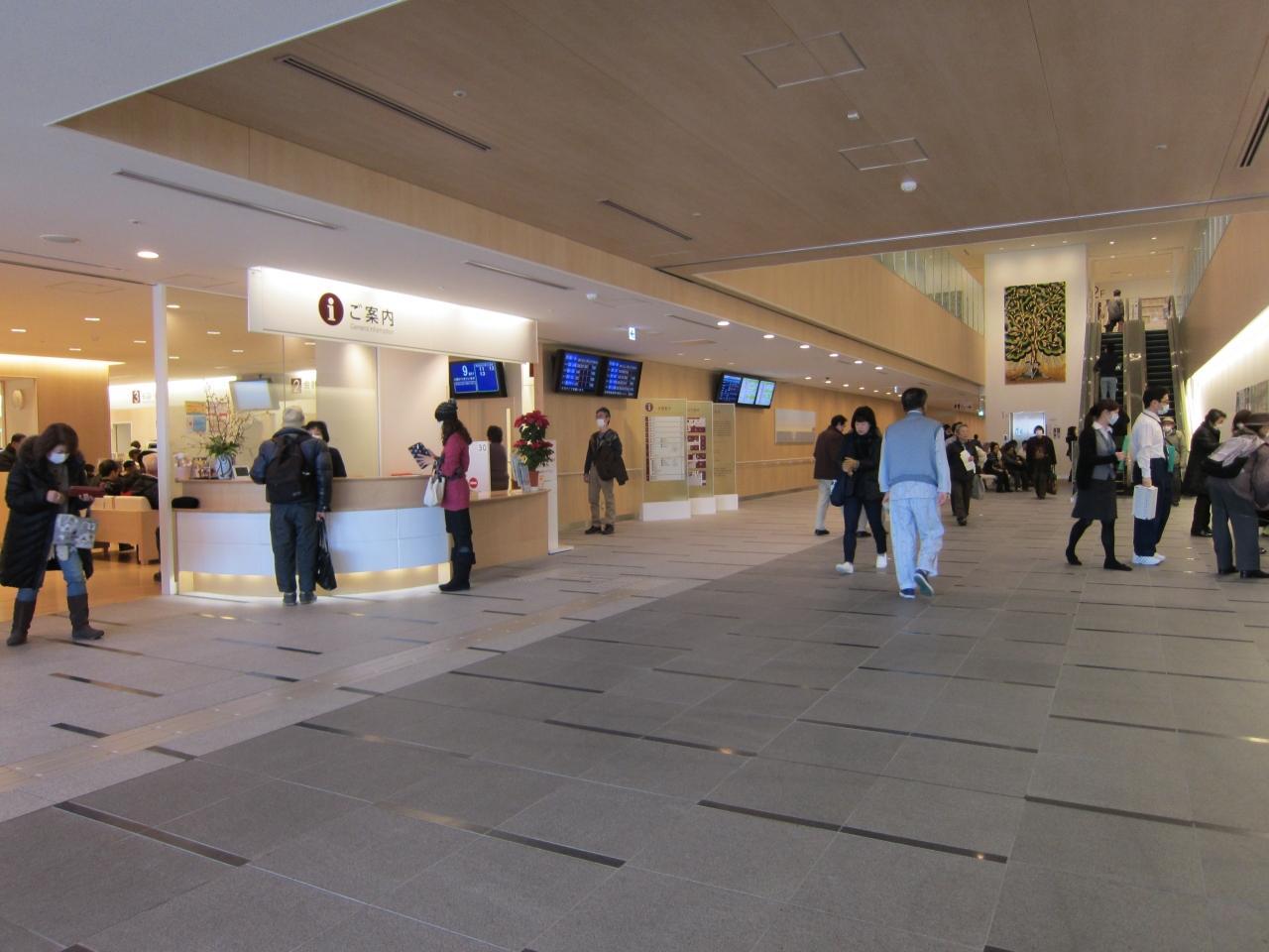 「神奈川県立がんセンター ロビー」の画像検索結果