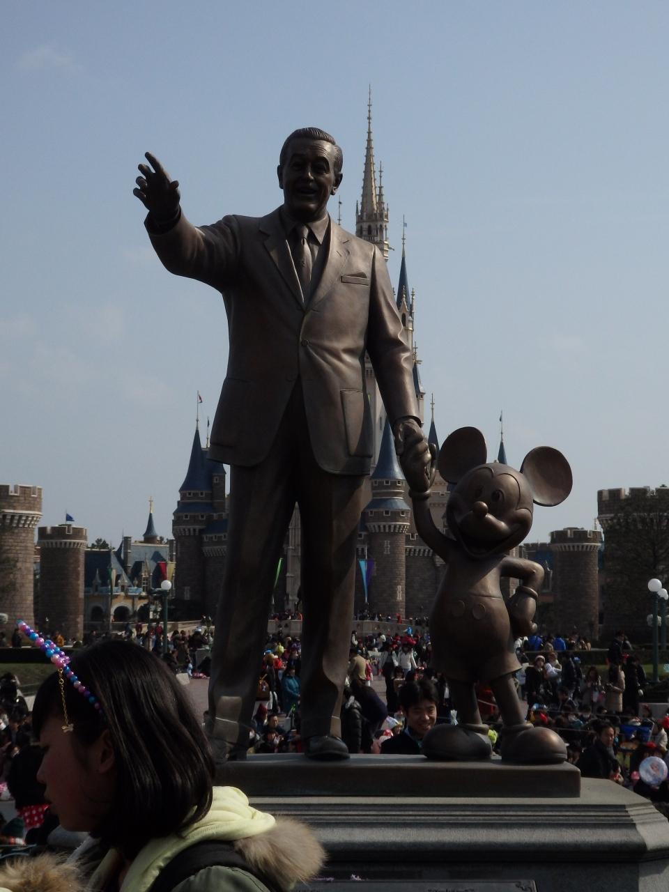 家族でディズニーリゾート(1日目)』東京ディズニーリゾート(千葉県)の