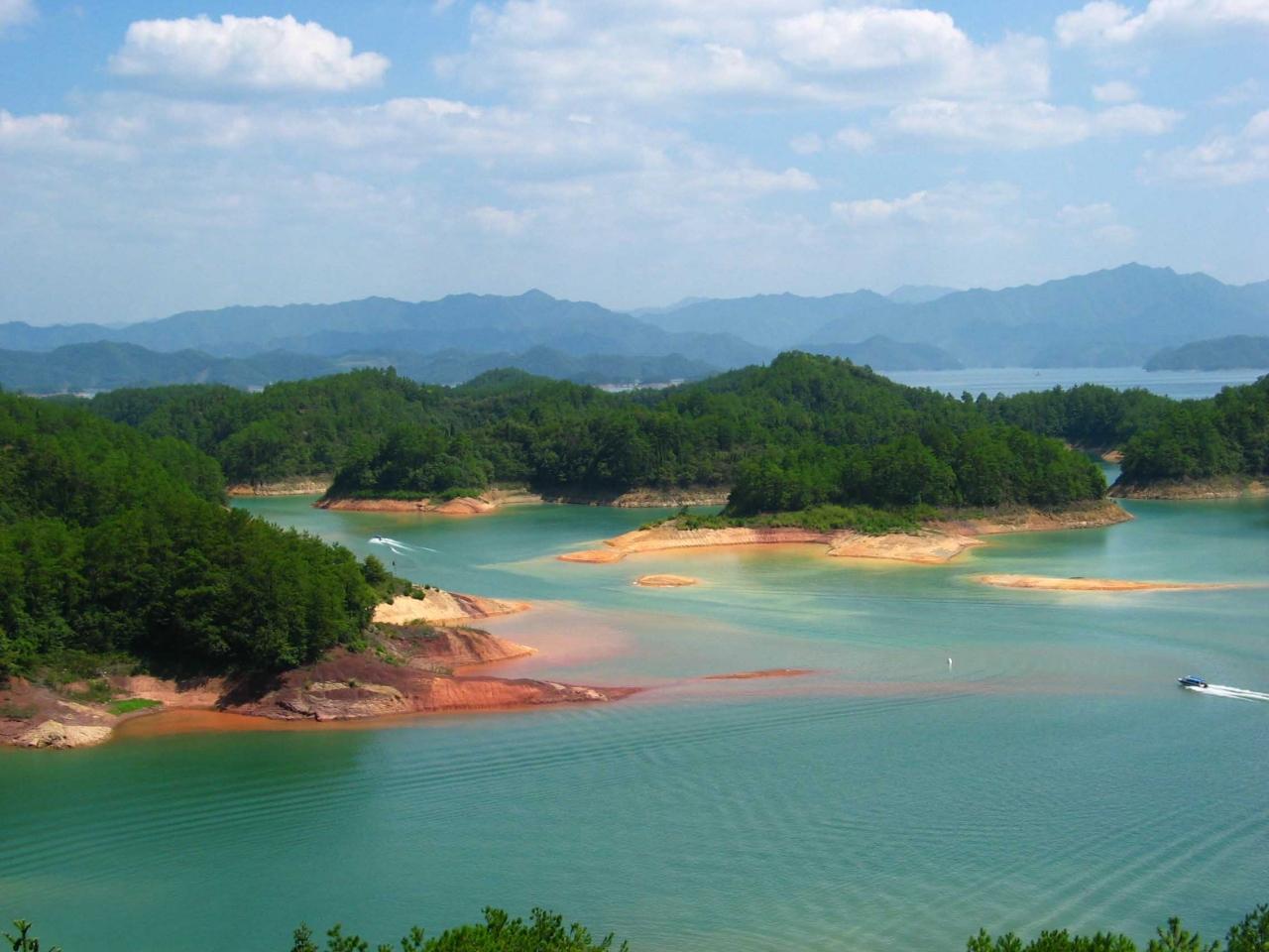 魅力的な千島湖の旅♪