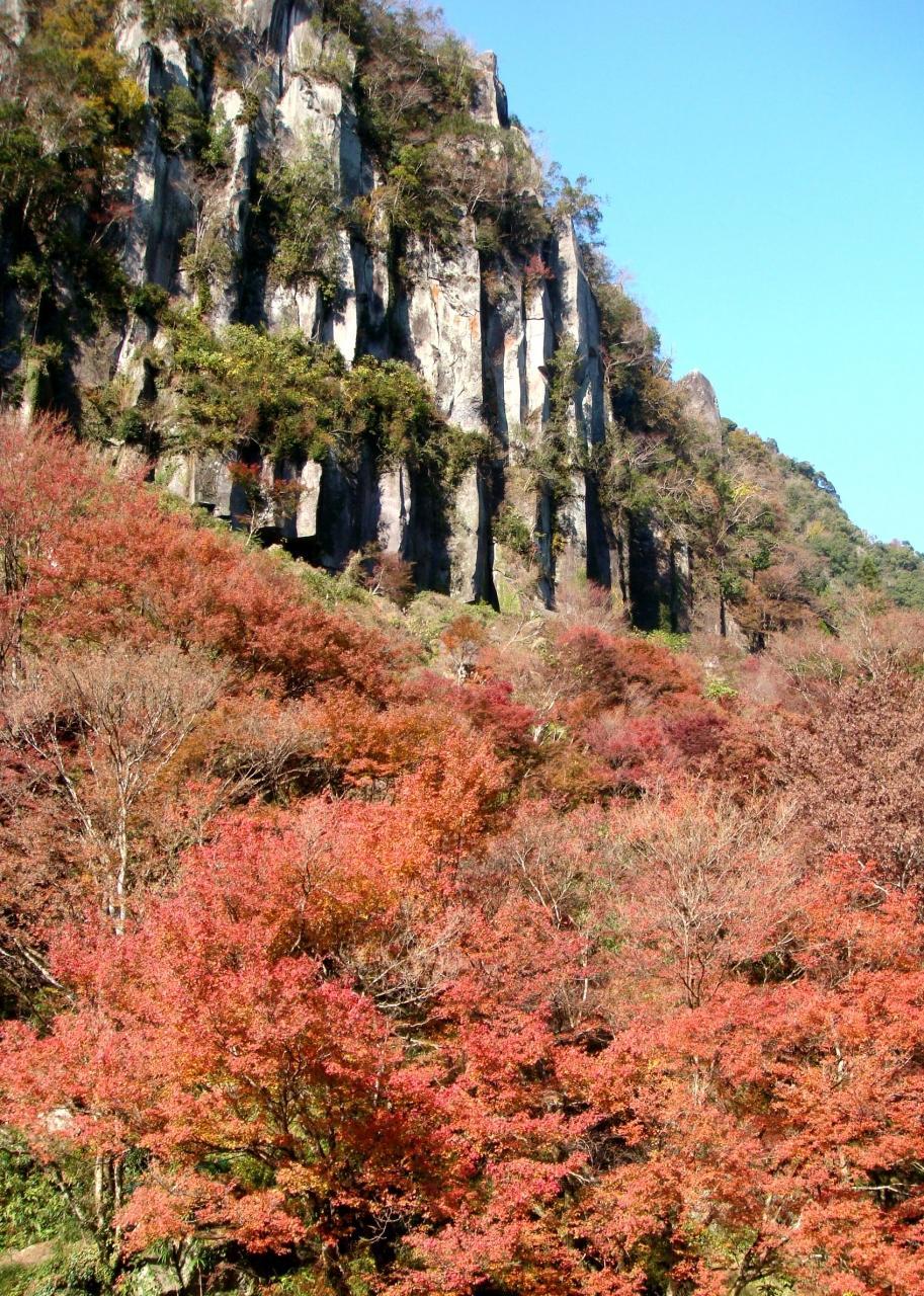 深耶馬溪の紅葉
