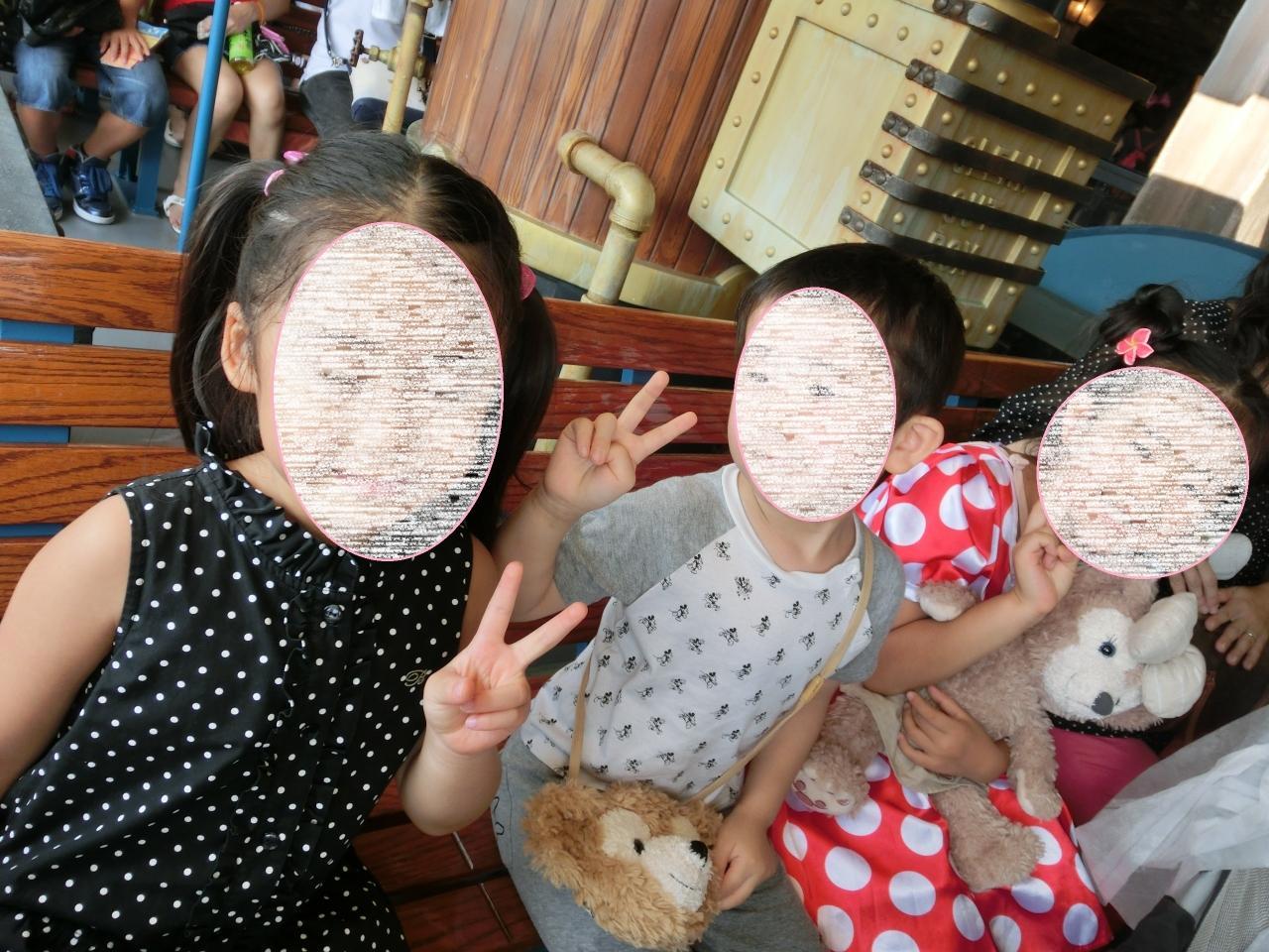 2014年・5歳児とお友達と行く夏のディズニーシーと