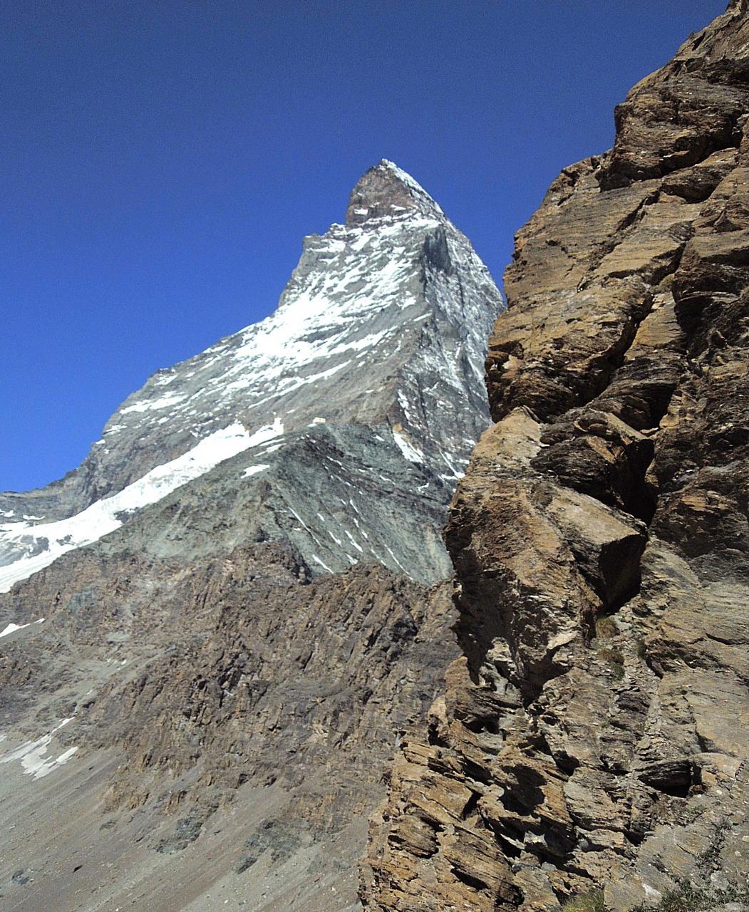 スイス・ハイキングの旅 2015夏(7) ヘルンリ・ヒュッテ再び