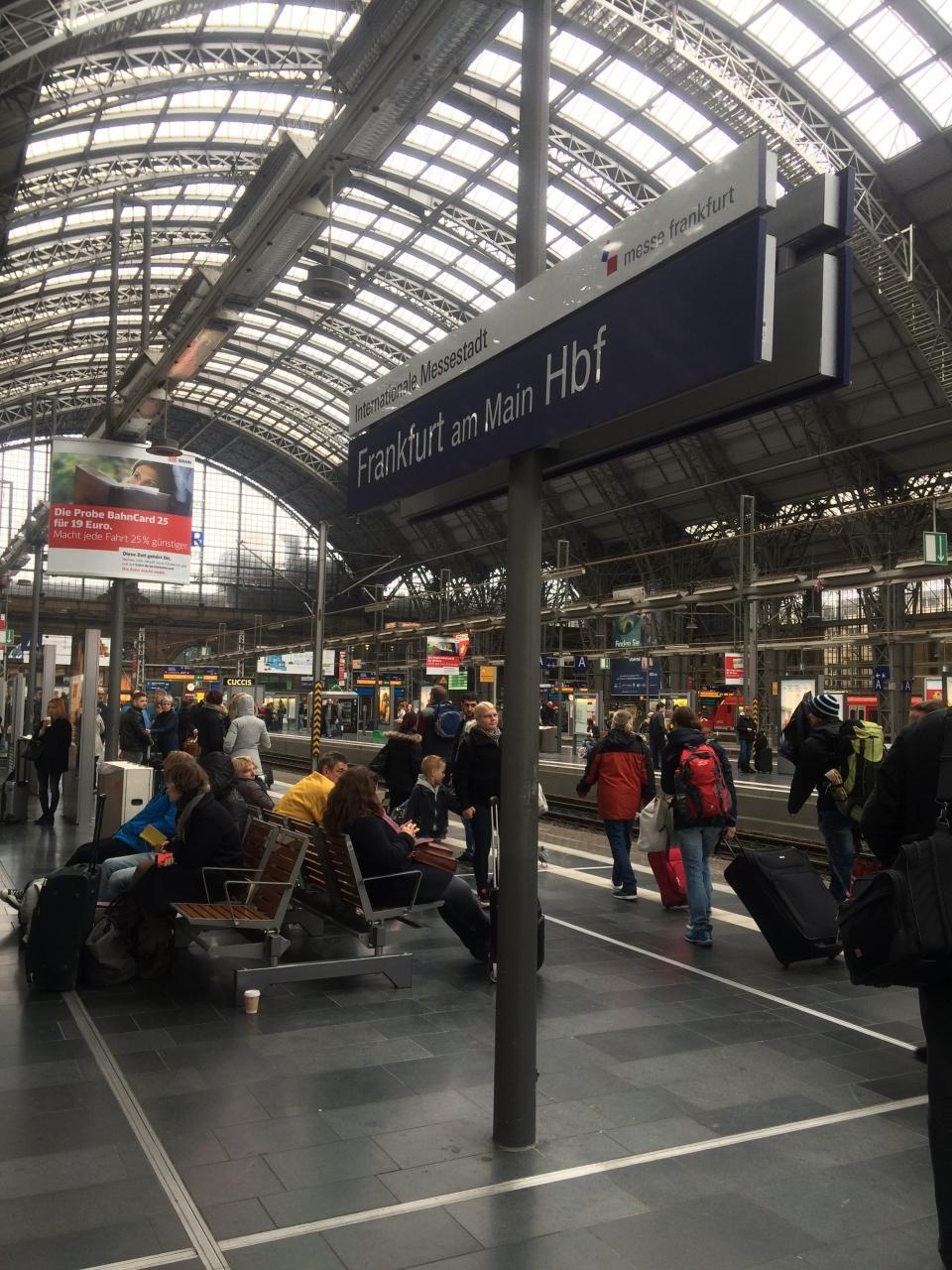 初めてのドイツへ!⑥(ICEでBerlin-Frankfult編)