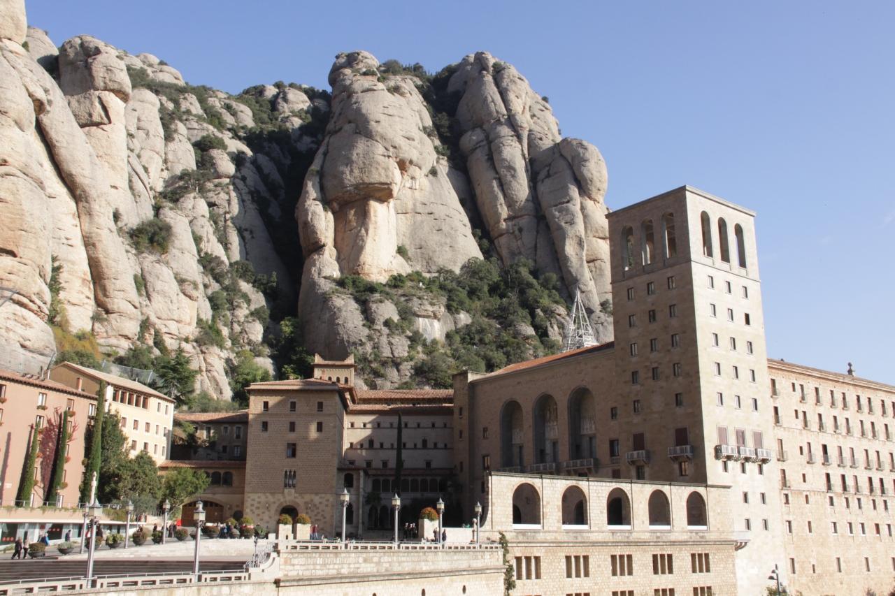 『 スペインの旅 (8)モンセラート』モンセラット(スペイン)の ...