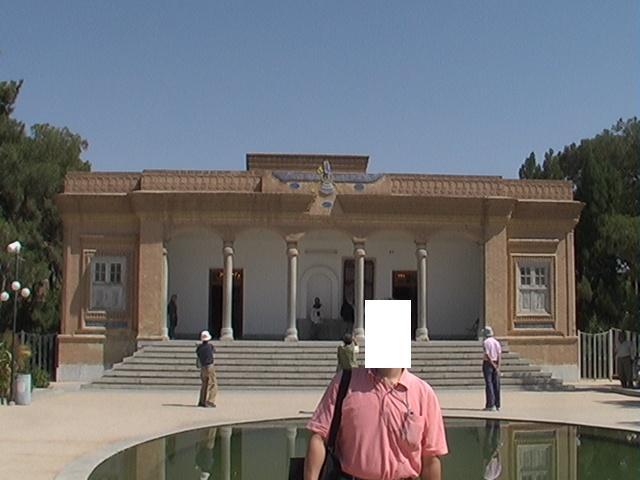 (23)2006年9月イランの旅8日間④ヤズド(ゾロアスター教拝火神殿 沈黙の塔 金曜日のモスク)