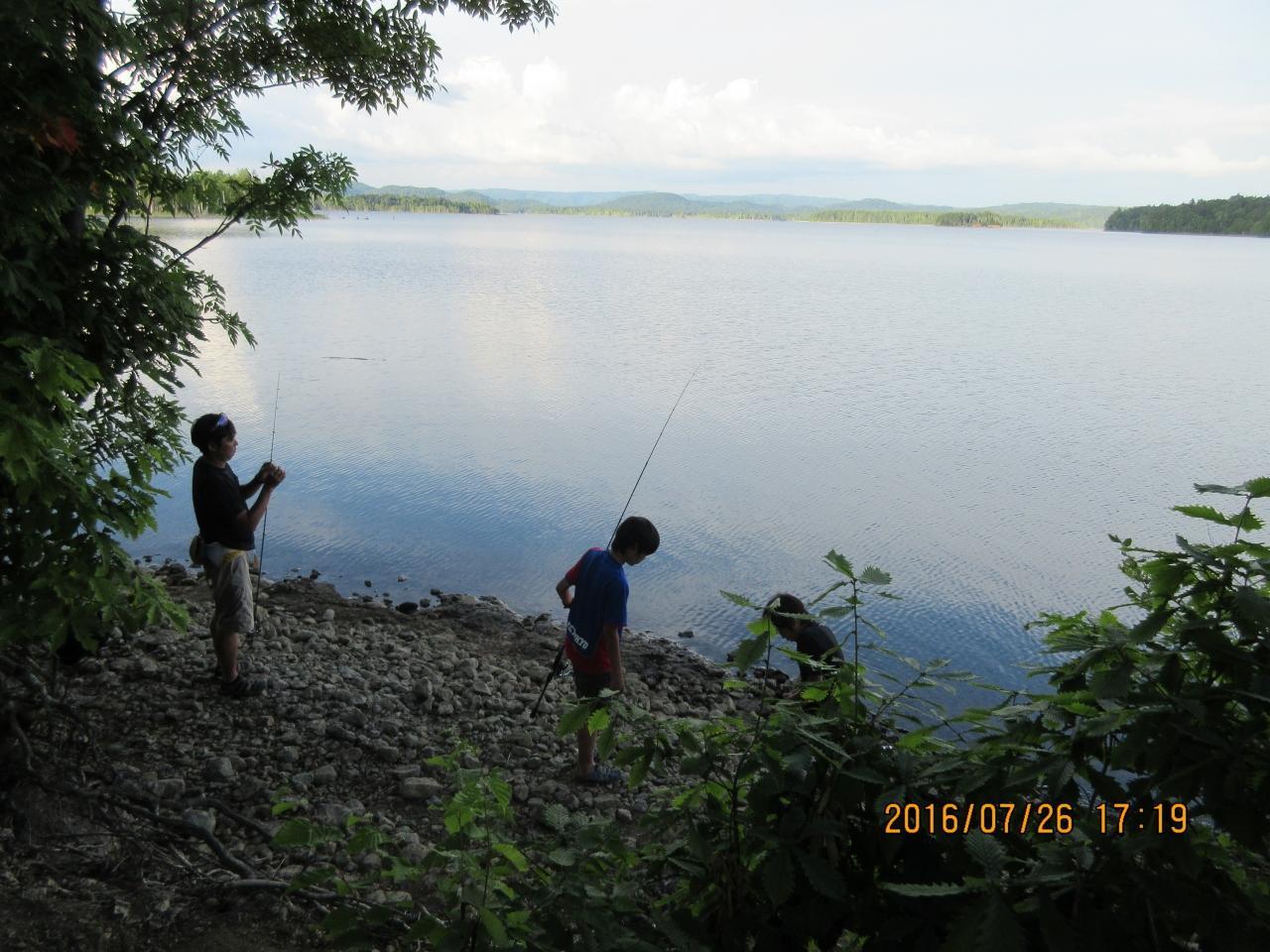 朱鞠内湖釣り情報