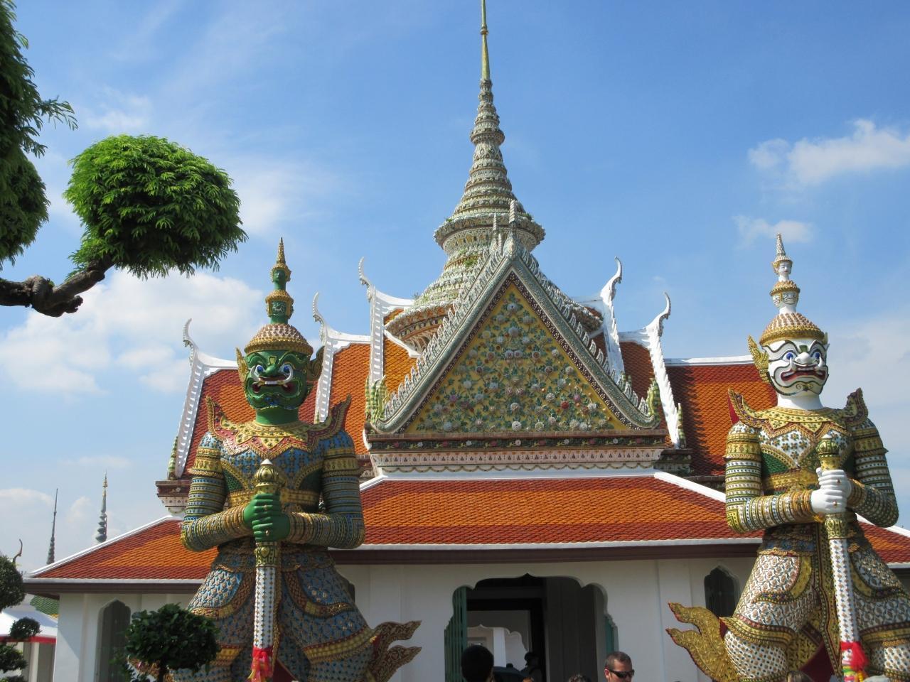 タイ◇4日目 バンコクで寺院巡り編