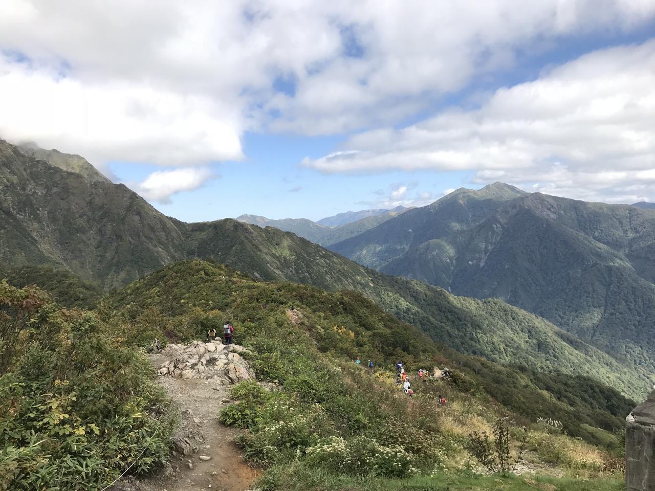 天気 谷川岳
