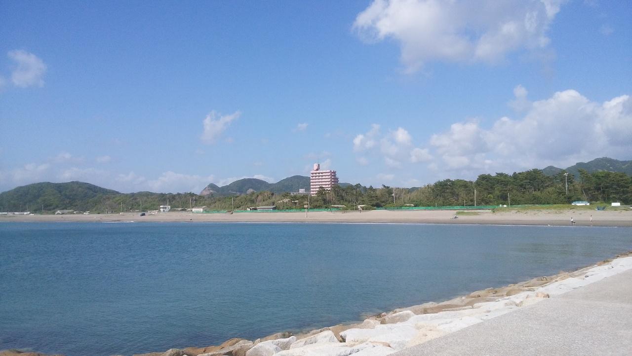 海岸 岩井