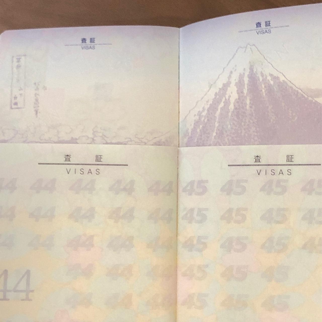 十 パスポート 六 景 富嶽 三
