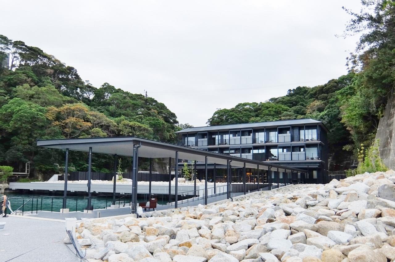 中の島 宿 熊野 き 碧 別邸 の 島