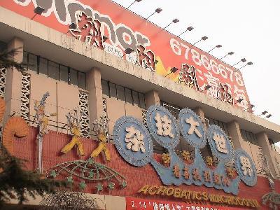 雑技団は上海の方がいい