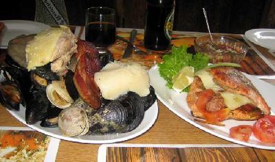チロエ島のレストラン