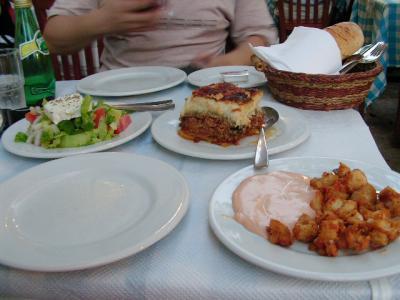 ギリシャ料理『ビザンティノ』